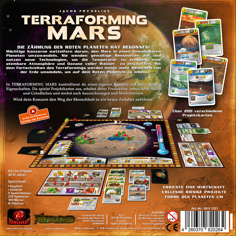 Terraforming Mars Regeln