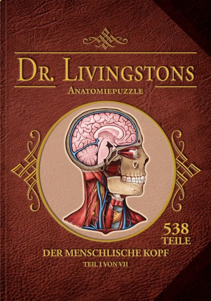 Dr. Livingstons Anatomiepuzzle: Kopf