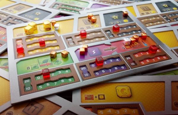 Terraforming Mars: Deluxe-Spielertableaus