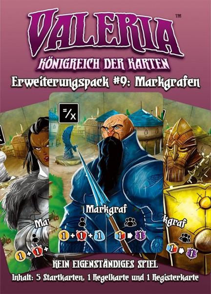 Valeria - Königreich der Karten: Erweiterungspack #9: Markgrafen