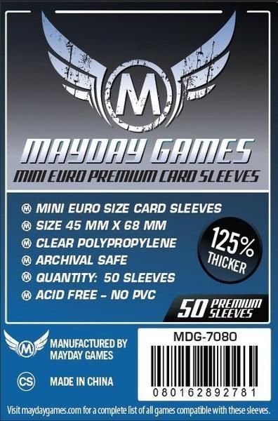 Mayday Premium Mini Euro Size (50x)
