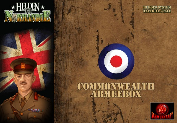 Helden der Normandie: Commonwealth Armeebox