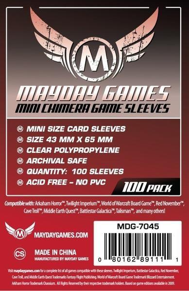 Mayday Standard Mini Chimera Size (100x)