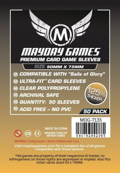 Mayday Premium 50 x 75 mm Size (50x)