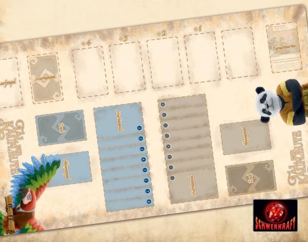 Tal der Kaufleute: Spielmatte Arakanga-Riesenpanda