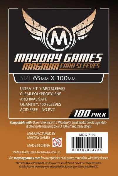 Mayday Standard 65 x 100 mm Size (100x)