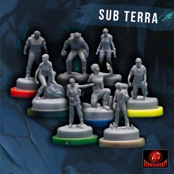 Sub Terra: Grundspiel-Miniaturen