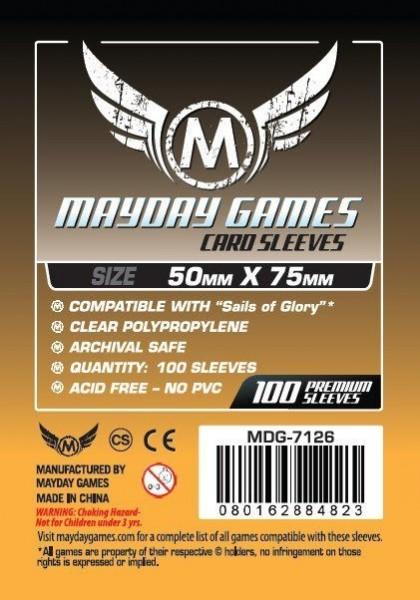 Mayday Standard 50 x 75 mm Size (100x)