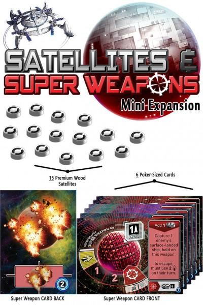 Winziges Weltall: Satelliten & Superwaffen Mini-Erweiterung