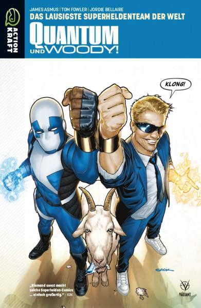 Quantum & Woody - Band 1: Das lausigste Superheldenteam der Welt