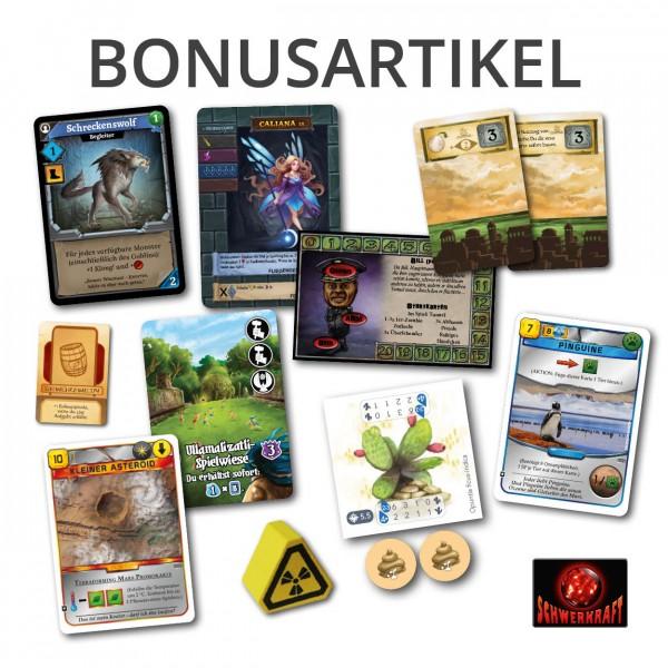 Schwerkraft-Bonusartikel-UEbersicht