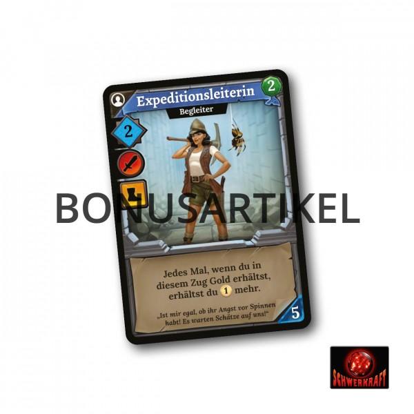 Klong!: Expeditionsleiterin