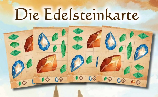 Roam - Verloren in Arzium: Die Edelsteinkarte