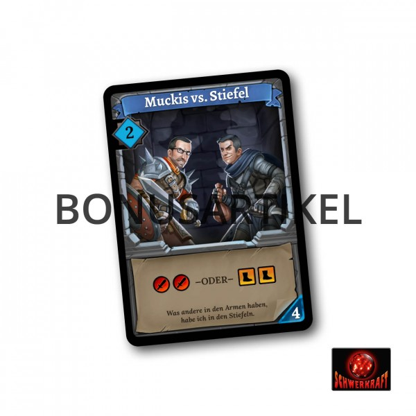 Klong!: Muckis vs. Stiefel