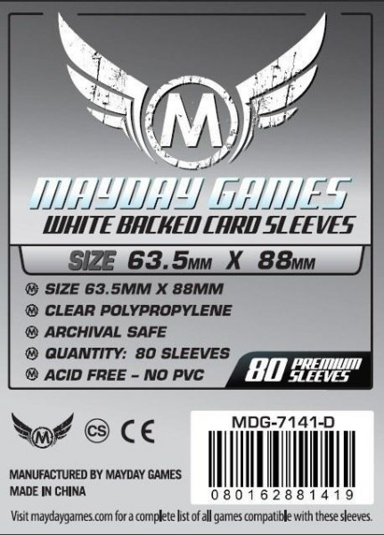 Mayday Premium Gray Backed Card Game Size