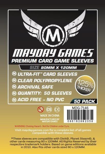 Mayday Premium 80 x 120 mm Size (50x)