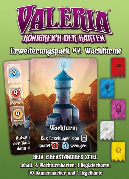 Valeria - Königreich der Karten: Erweiterungspack #7: Wachtürme