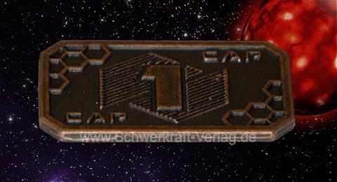 1er Sci-Fi-Spielgeld (10 Münzen)