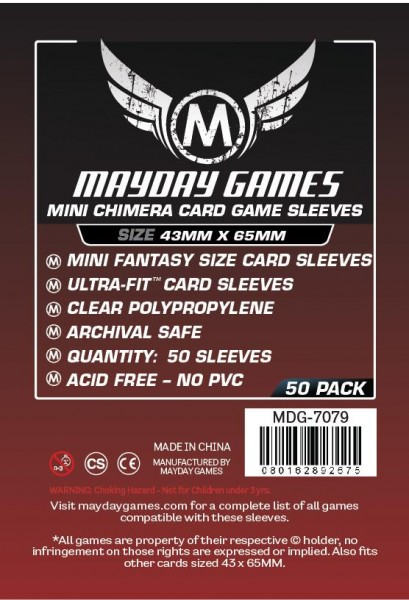 Mayday Premium Mini Chimera Game Size