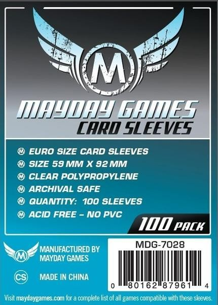 Mayday Standard Euro Game Size (100x)