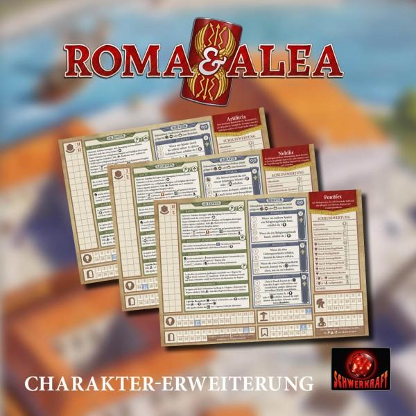 Roma & Alea: Charakter-Erweiterung