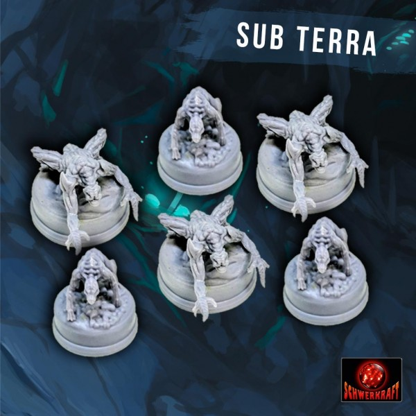 Sub Terra: Schrecken-Miniaturen
