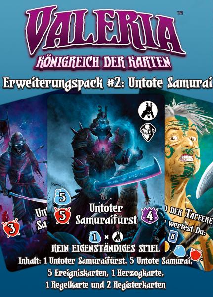 Valeria: Königreich der Karten – Erweiterungspack #2: Untote Samurai