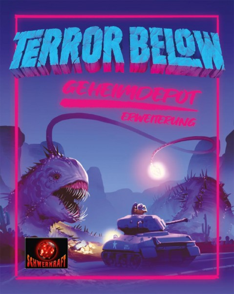 Terror Below: Geheimdepot