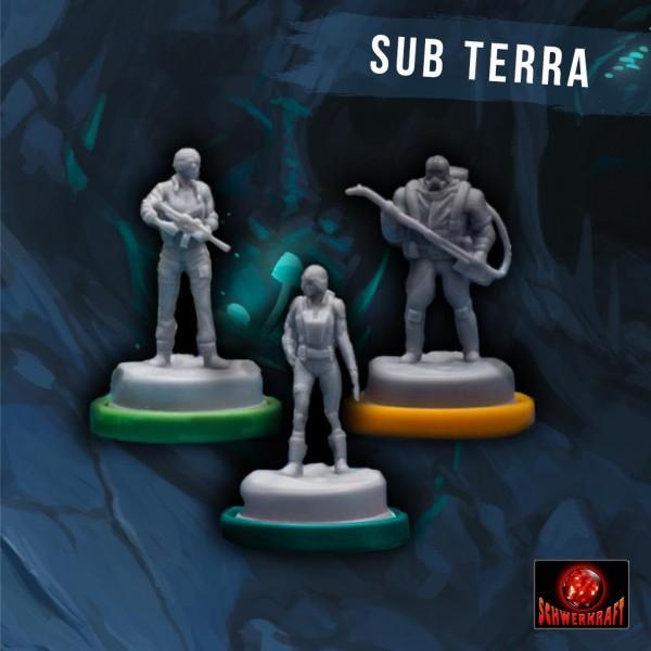 Sub Terra: Erweiterungen-Miniaturen