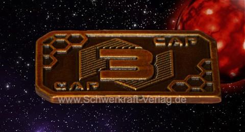 3er Sci-Fi-Spielgeld (10 Münzen)