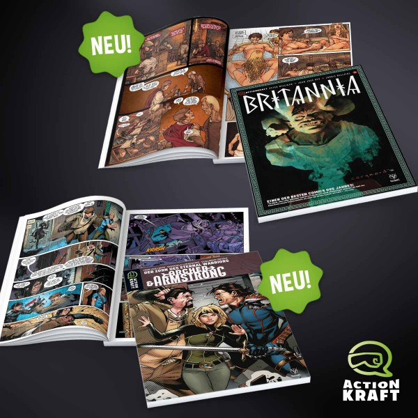 Comics_Britannia_1_und_Archer_2